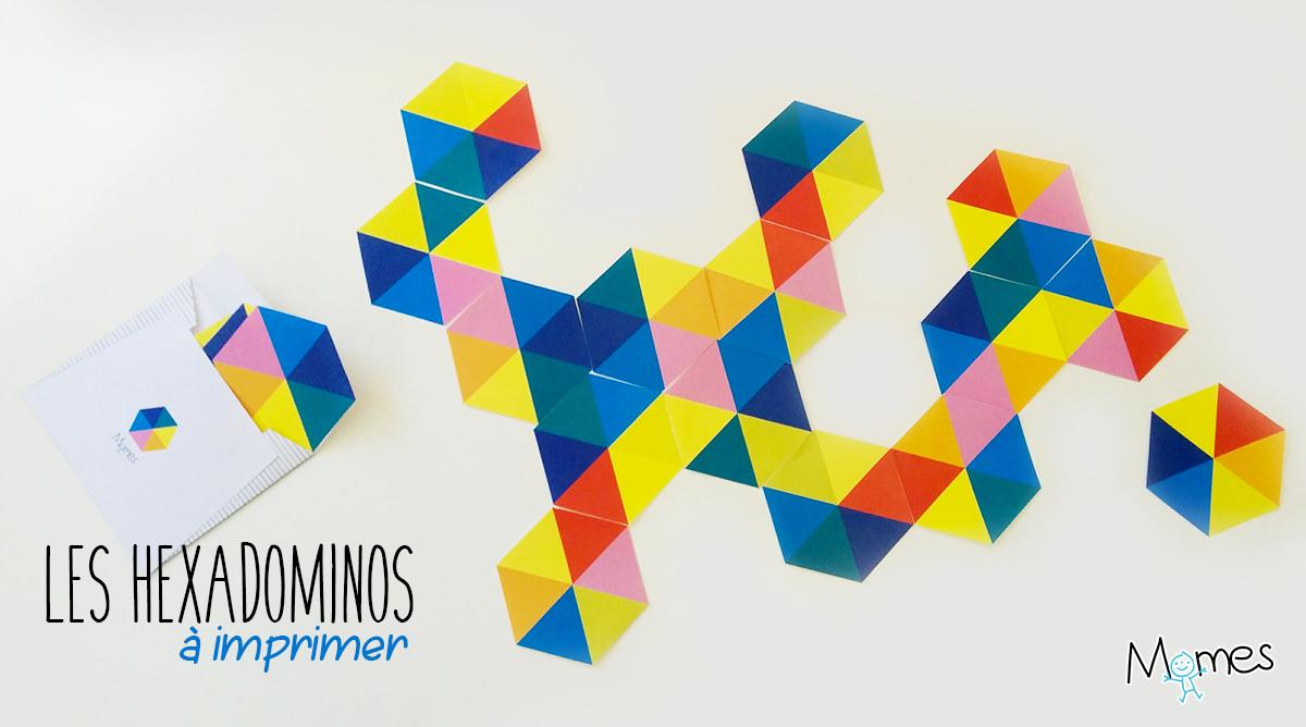 Hexadominos : Les Dominos À 6 Côtés - Momes à Dominos À Imprimer