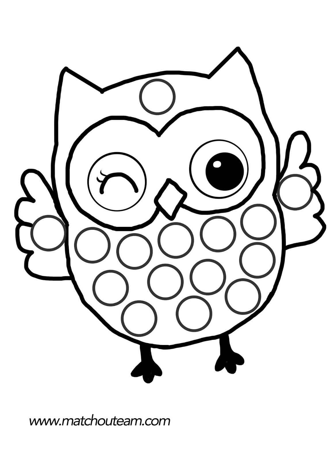 Hibou #82 (Animaux) – Coloriages À Imprimer intérieur Dessiner Un Hibou