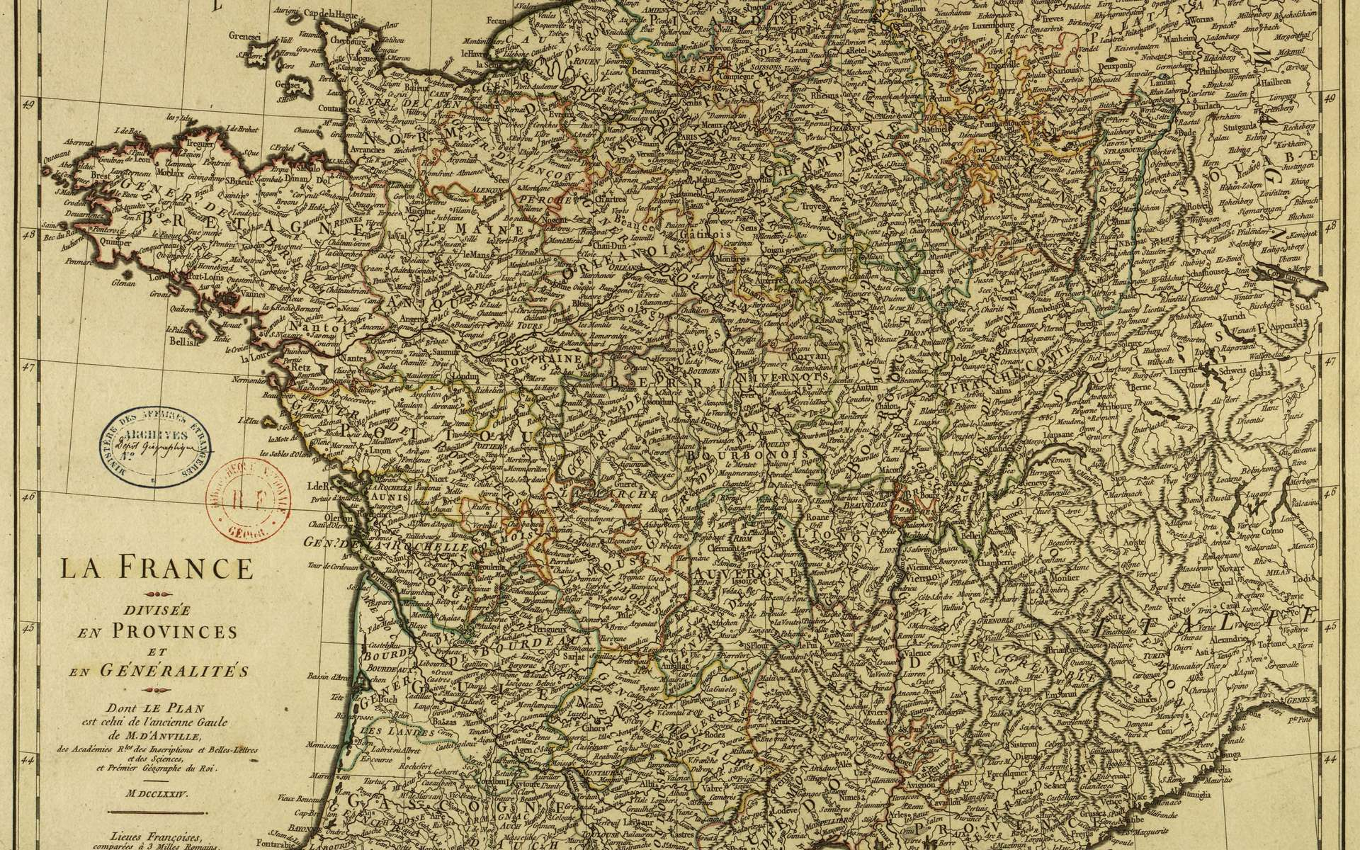 Histoire : La Création Des Départements Français À La Révolution avec Départements Et Régions De France