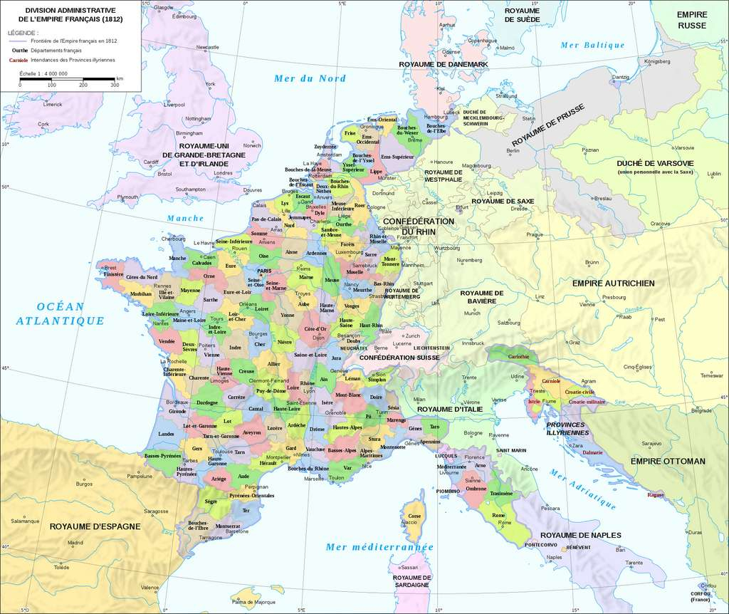 Histoire : La Création Des Départements Français À La Révolution encequiconcerne Carte De France Numéro Département