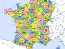 Histoire : La Création Des Départements Français À La Révolution serapportantà Carte De France Avec Départements Et Préfectures