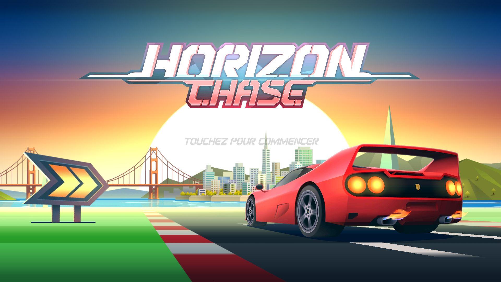 Horizon Chase : La Course De Voiture Façon Année 90 Est dedans Un Jeu De Voiture De Course