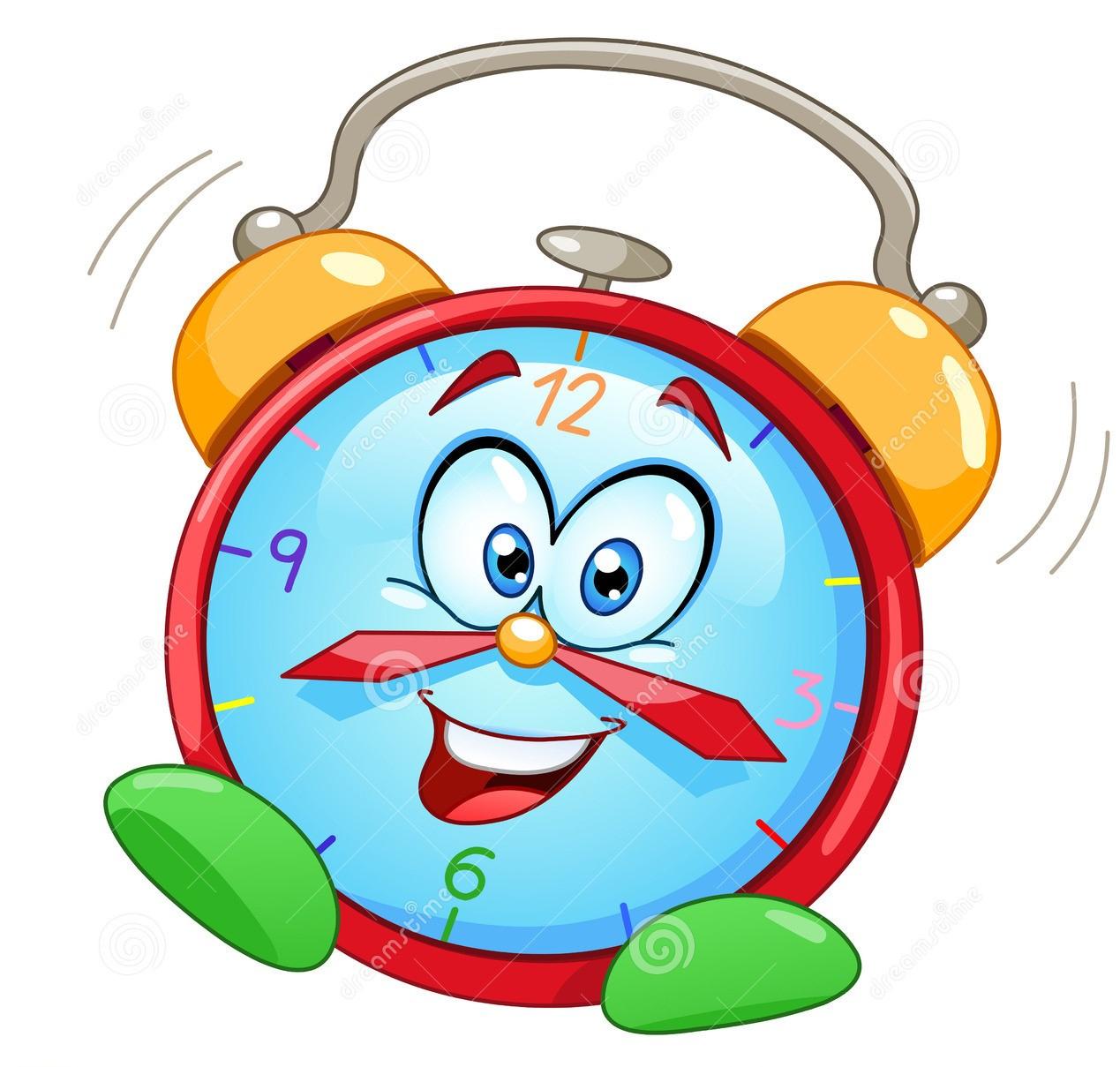 Horloge-D-Alarme-De-Dessin-Animé-21464295 - Copie concernant Dessin D Horloge