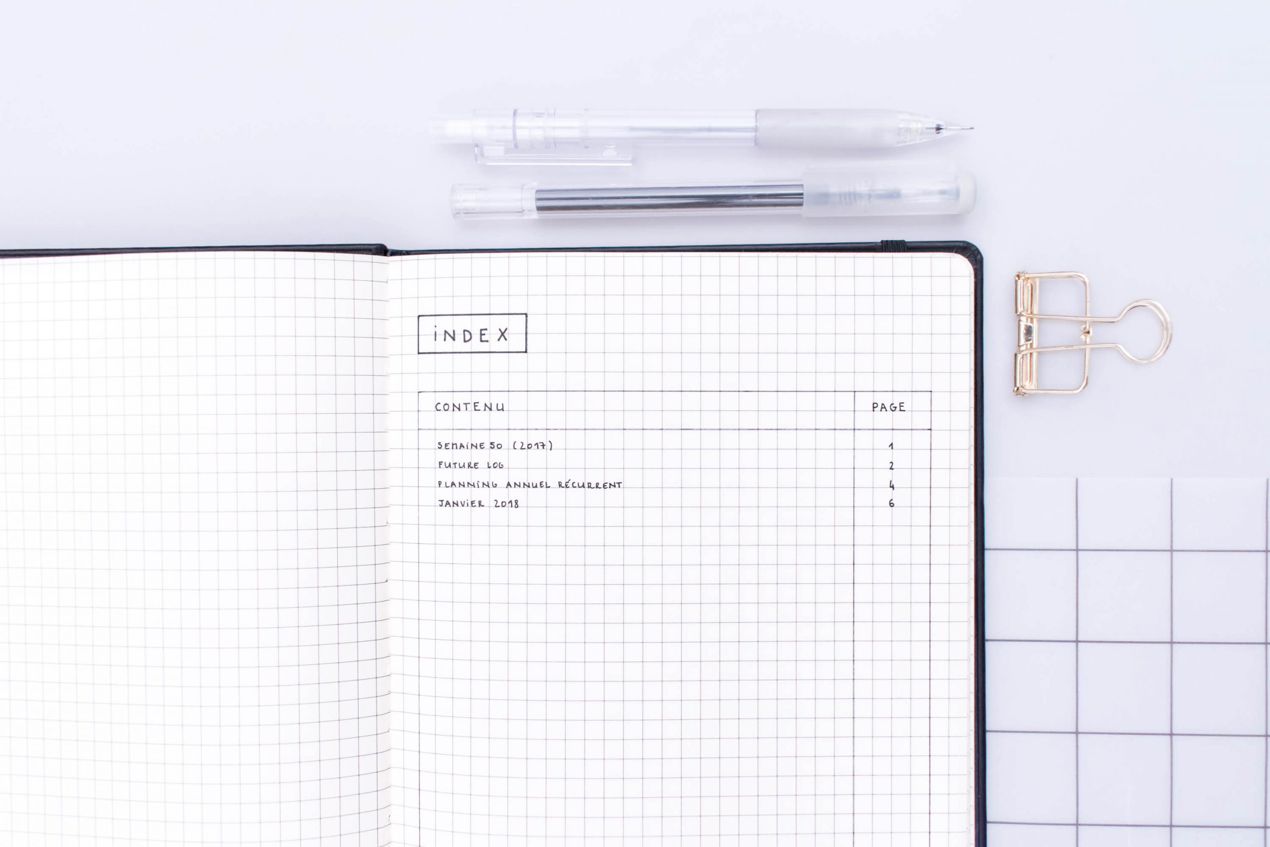 How To Start A Bullet Journal: Tips + Free Printable Guide serapportantà Planning Annuel 2018