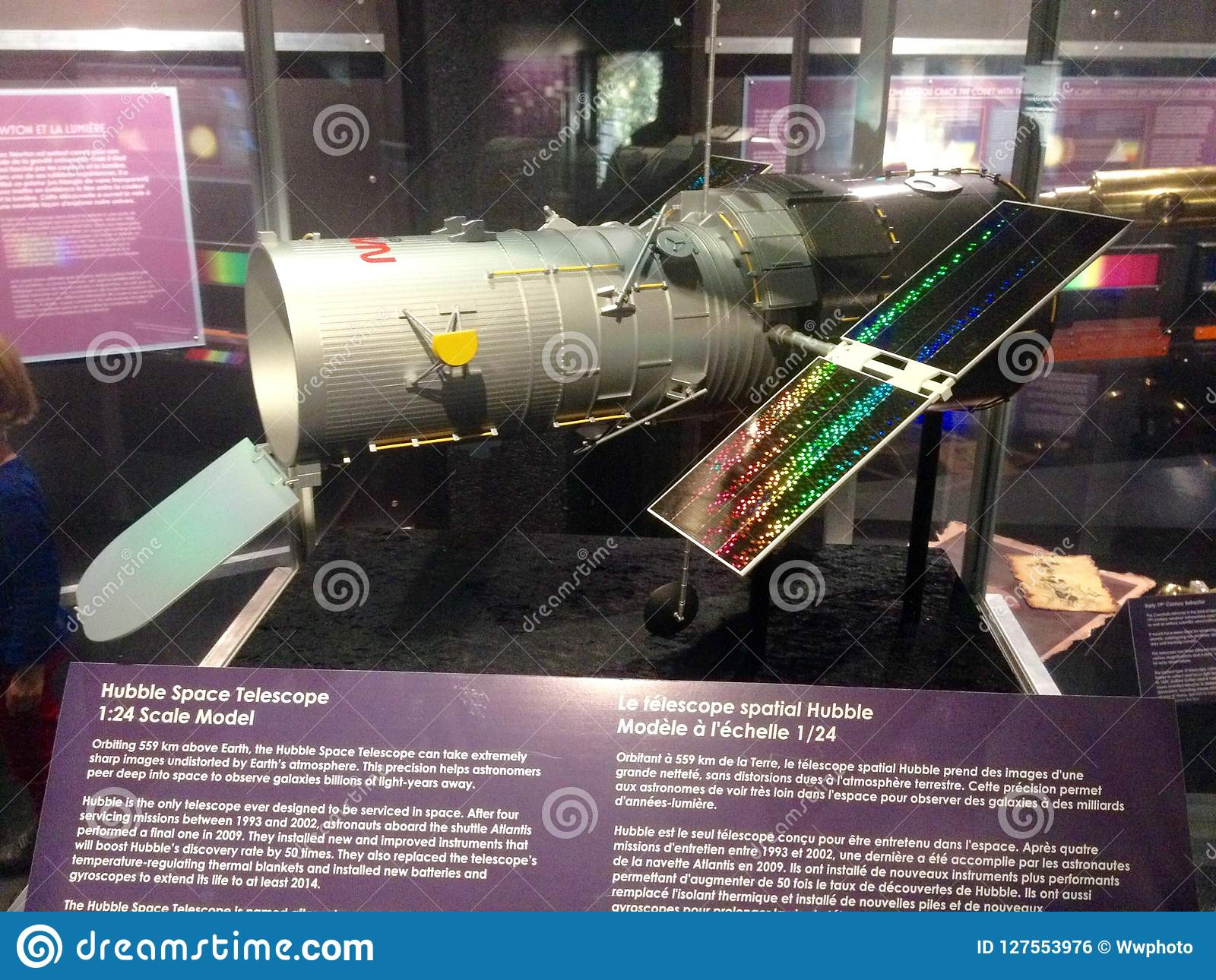 Hubble Space Telescope Editorial Photo. Image Of Aviation tout Un Mot Pour Quatre Images