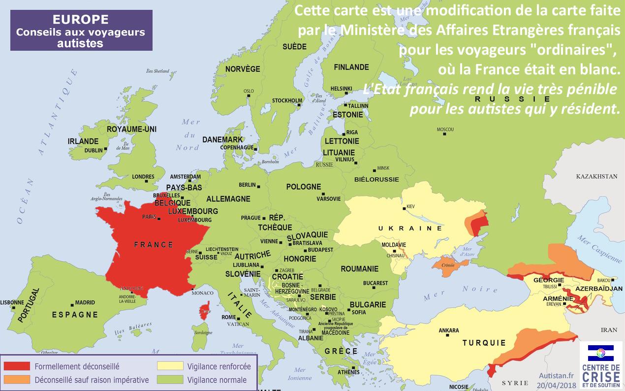Hugo Horiot Randevu Olarak Büyükelçi Autistan Fransa'da à Carte Europe De L Est