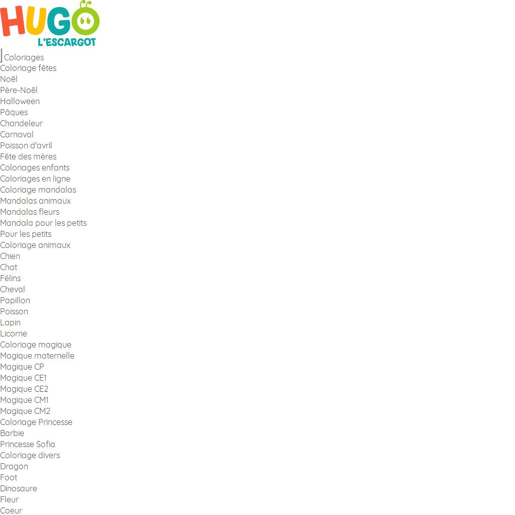 Hugo L'escargot | Fiches Créatives De Bricolage Pour Enfants dedans Hugo L Escargot Coloriage Mandala