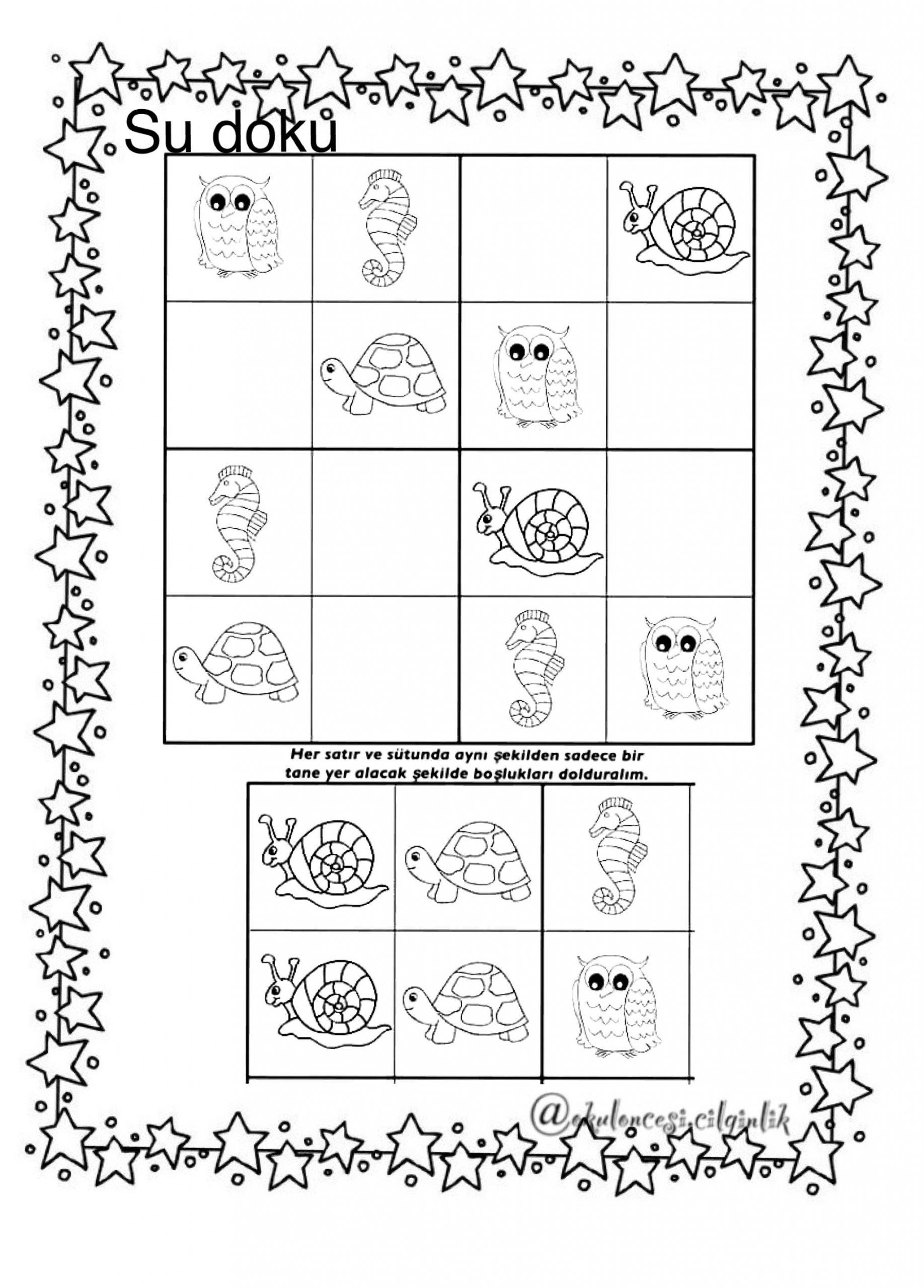Hülya Solmaz Ince Adlı Kullanıcının Sudoku Panosundaki Pin concernant Sudoku A Imprimer