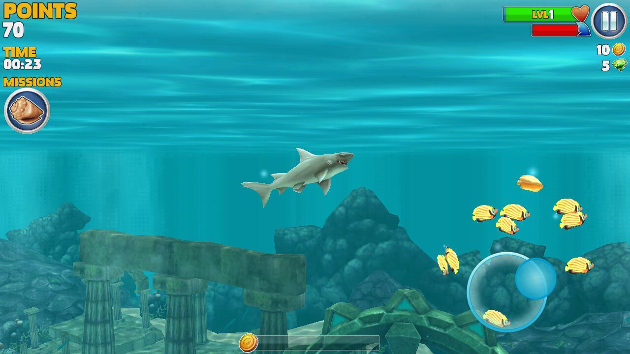 Hungry Shark Evolution 7.3.0 - Télécharger Pour Android Apk serapportantà Jeux Gratuit Requin Blanc