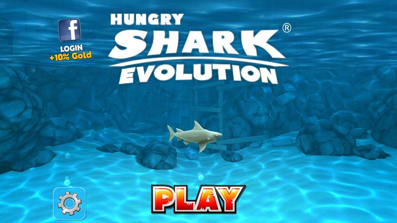 Hungry Shark Evolution 7.3.0 - Télécharger Pour Android Apk tout Jeux Gratuit Requin Blanc