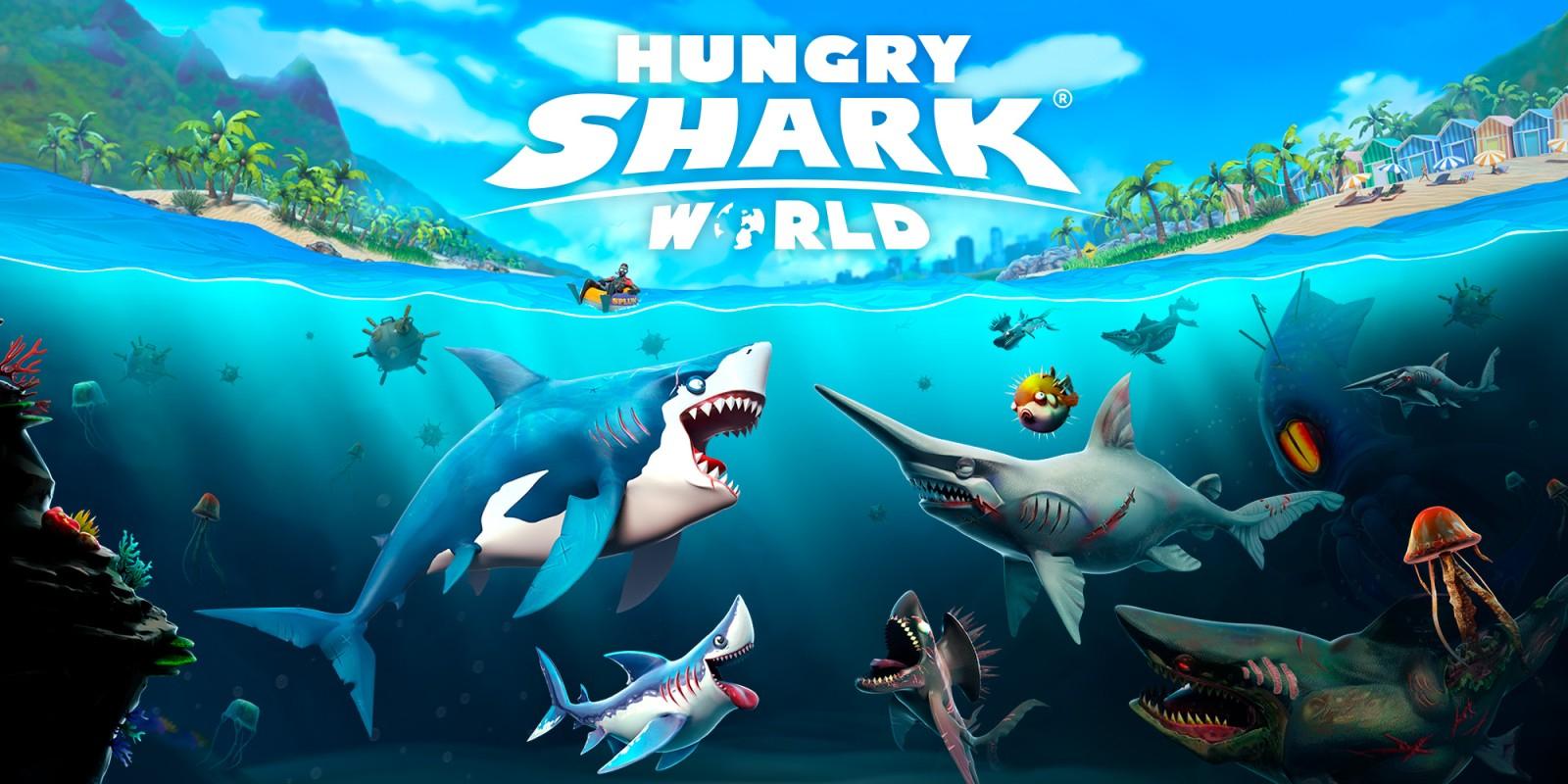 Hungry Shark® World | Jeux À Télécharger Sur Nintendo Switch avec Requin Jeux Video