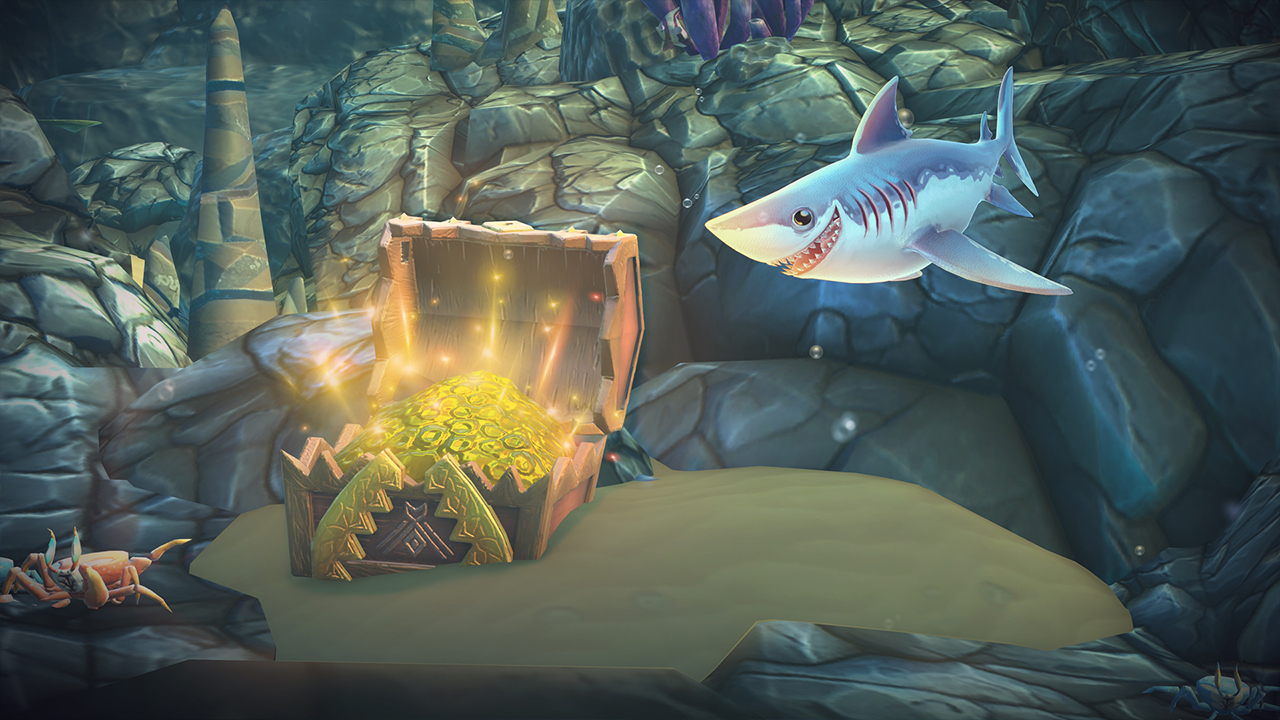 Hungry Shark World - Test Nintendo Switch | Insert Coin serapportantà Jeux Gratuit Requin Blanc