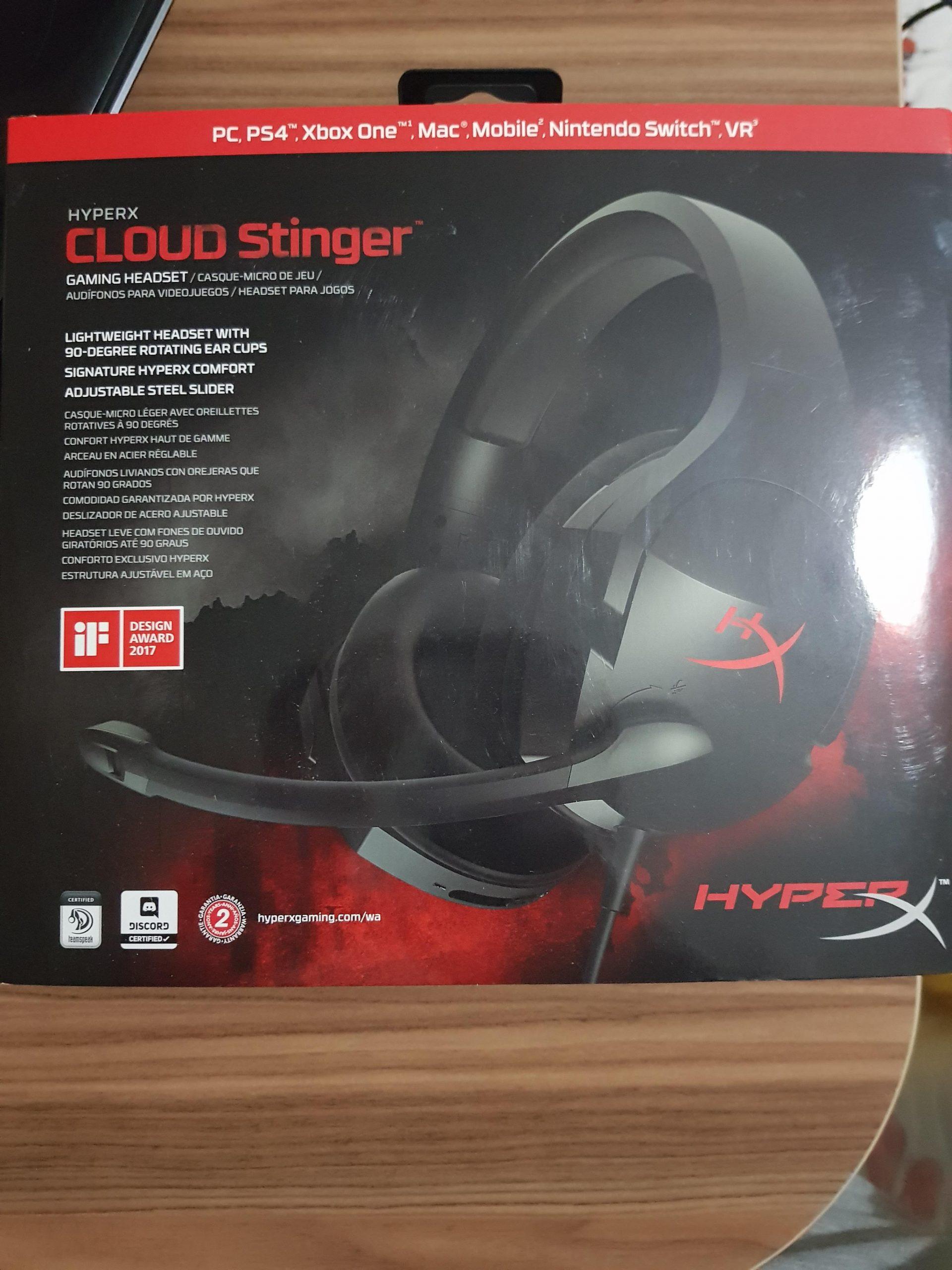 Hyperx Stinger Oyuncu Kulaklığı Sıfırdan Farksız à 90 Degrés Jeux