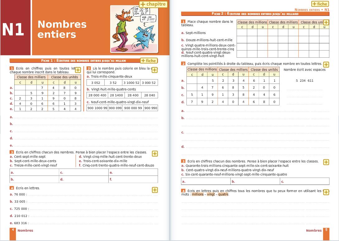 I Parcours Maths dedans Exercice Cm1 Gratuit - PrimaNYC.com