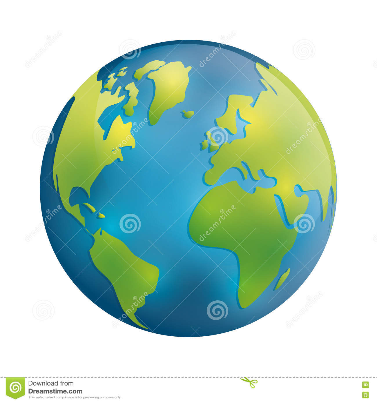 Icône De Planète Conception De Sphère De La Terre Dessin De concernant Image De La Terre Dessin