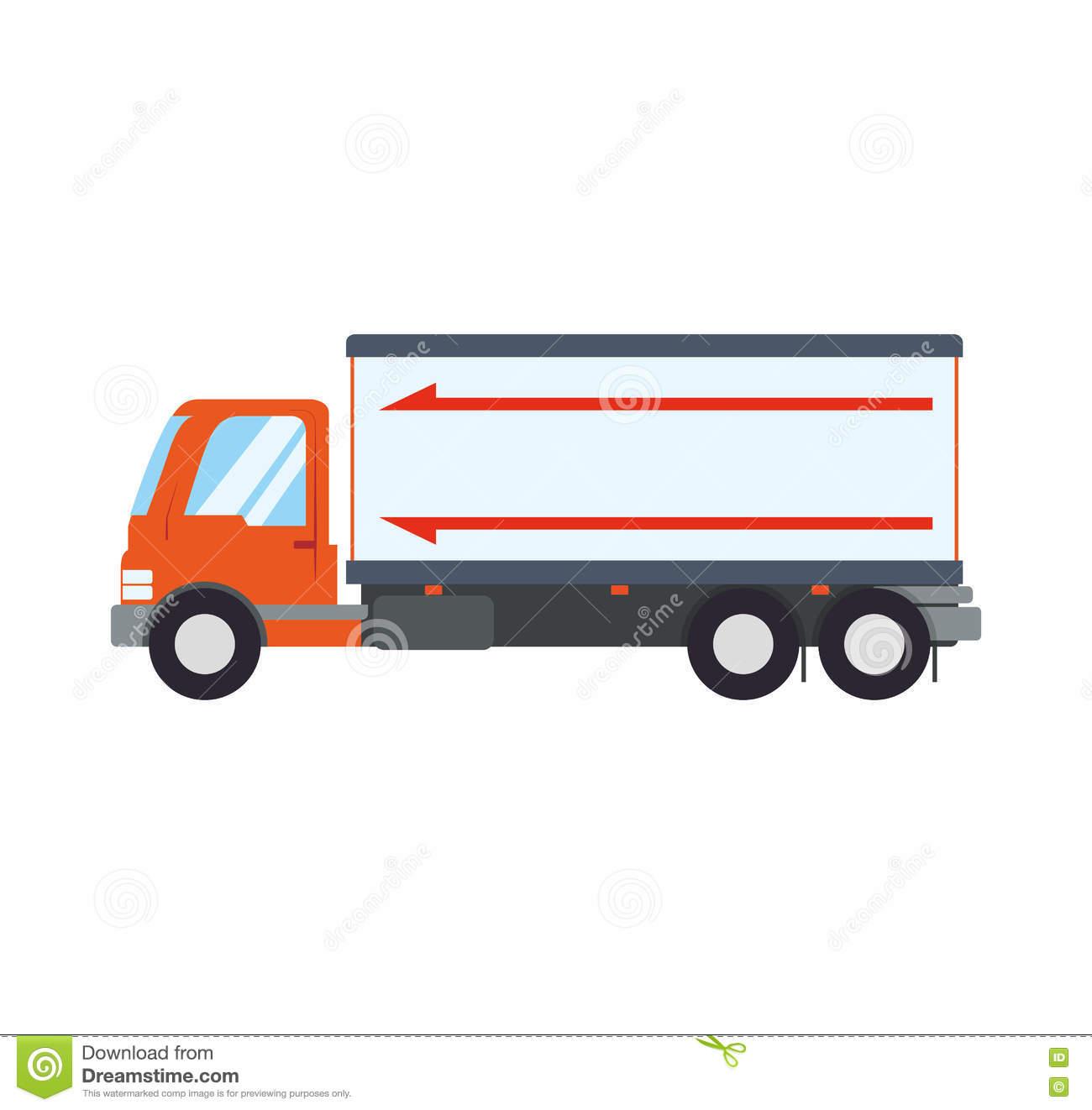 Icône D'expédition De La Livraison De Transport De Camion à Dessin D Un Camion
