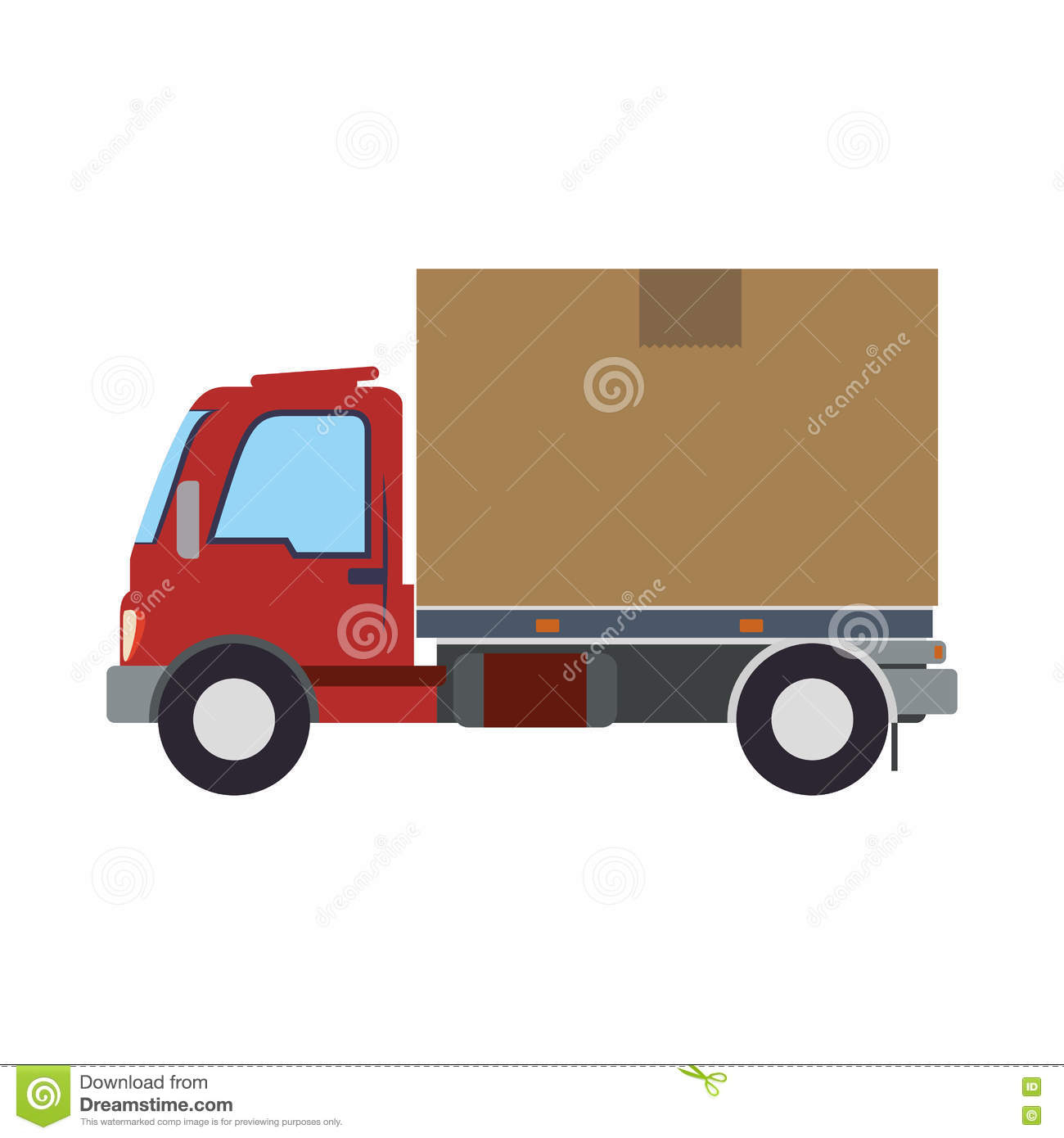 Icône D'expédition De La Livraison De Transport De Camion concernant Dessin D Un Camion