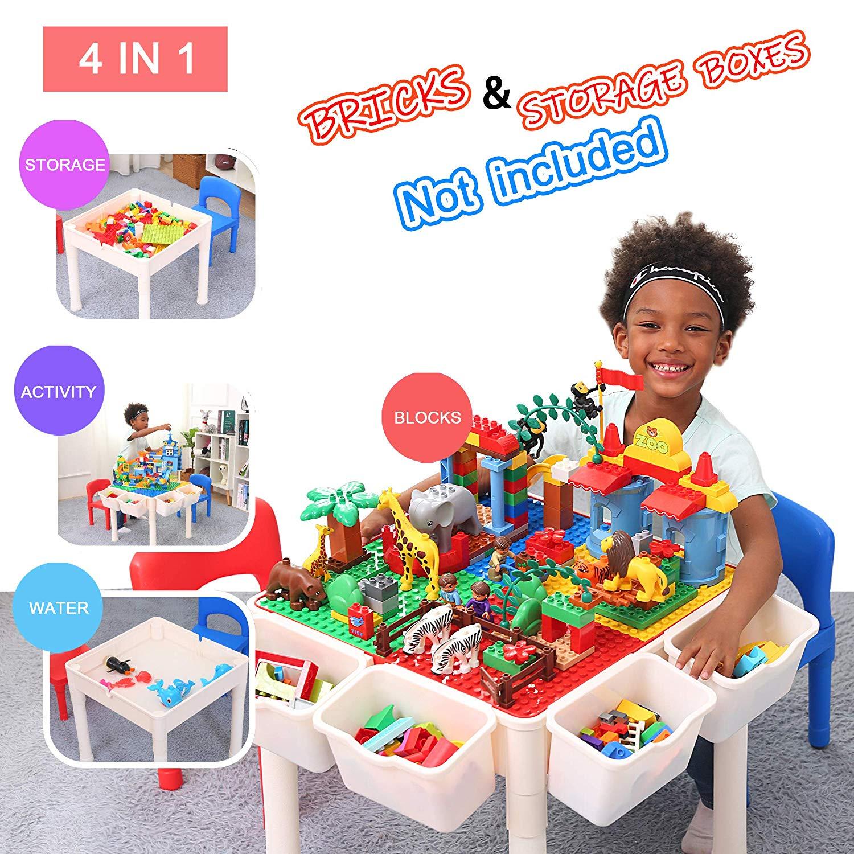 Idéal Pour Jouer Avec Des Lego Ou Des Duplo : La Table Ronde avec Jeux Pour Petit De 4 Ans
