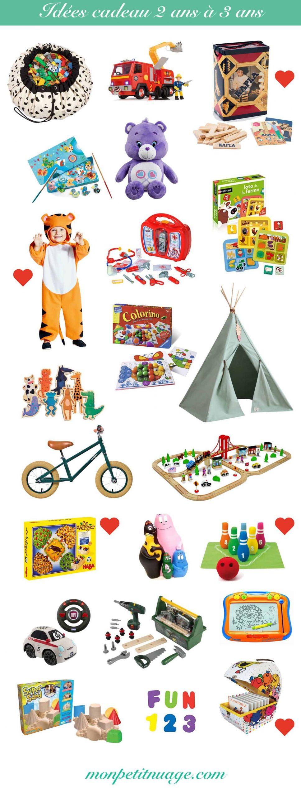 Idées Cadeaux Bébé & Enfant : 6 Mois, 1 An, 2 Ans, 3 Ans concernant Jeux Pour Garcon 3 Ans