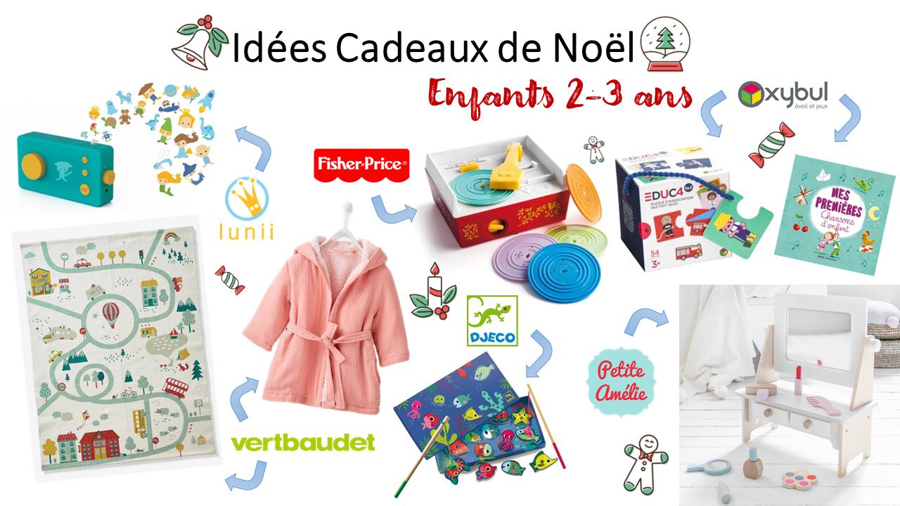 Idées Cadeaux De Noël Pour Enfants 2-3 Ans | Clairemakeupandco avec Jeux Pour Enfant De 3 Ans