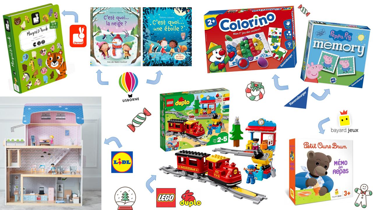 Idées Cadeaux De Noël Pour Enfants 2-3 Ans | Clairemakeupandco concernant Jeux Pour Petit De 3 Ans