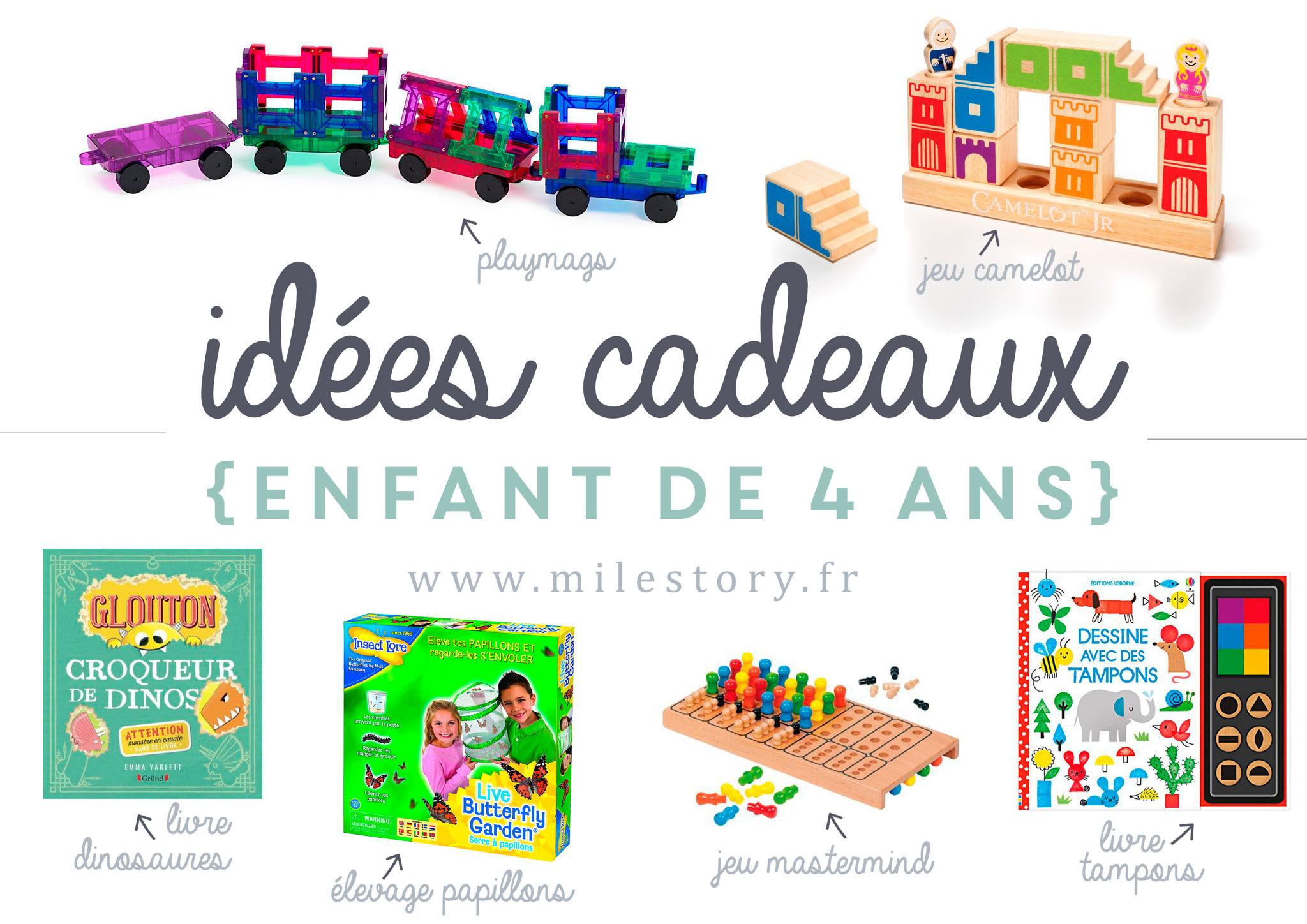 Idées Cadeaux Enfant De 4 Ans - Milestory concernant Jeu Garcon 4 Ans Gratuit