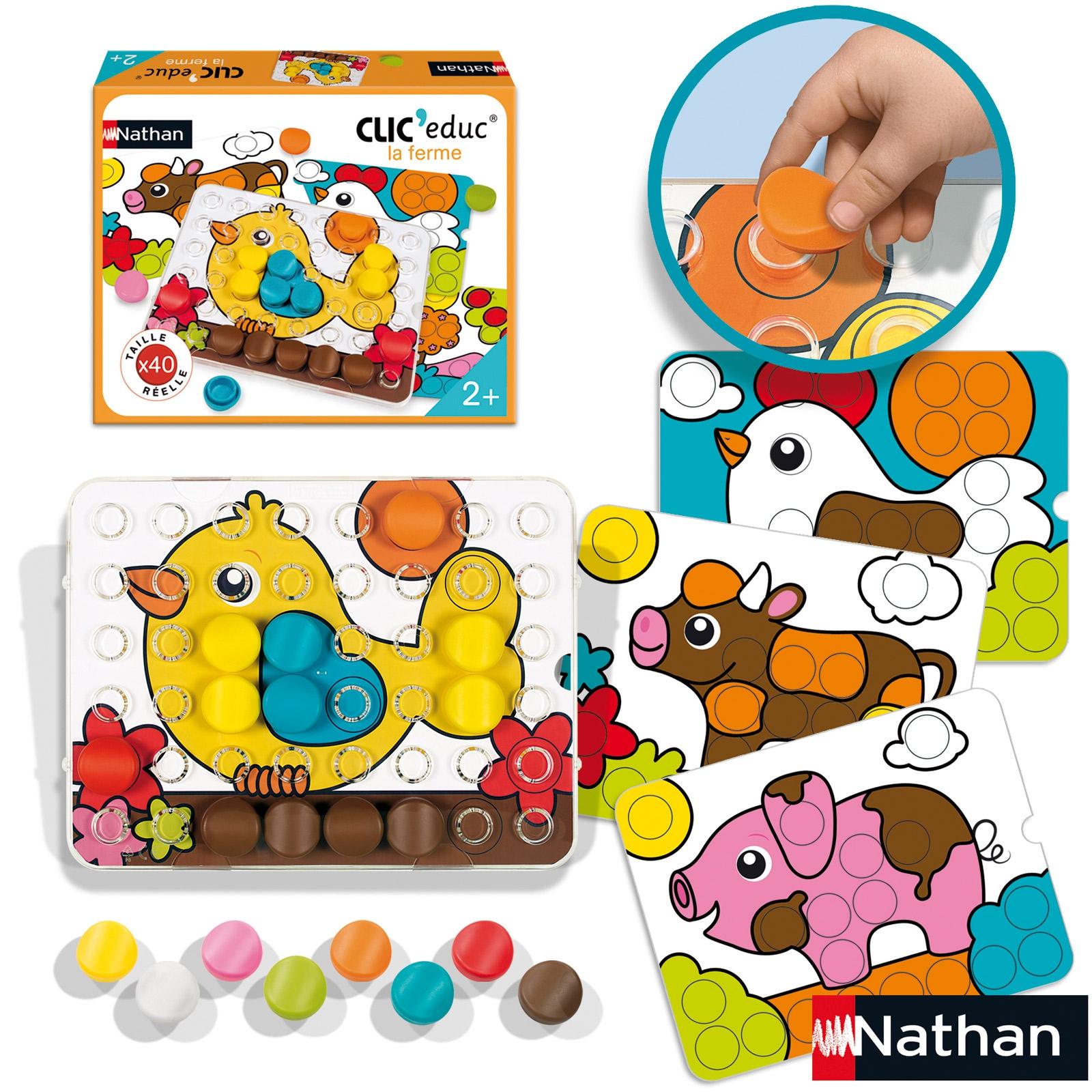 Idées Cadeaux Montessori Pour Enfants De 18 Mois À 3 Ans avec Jeux Educatif 9 Ans