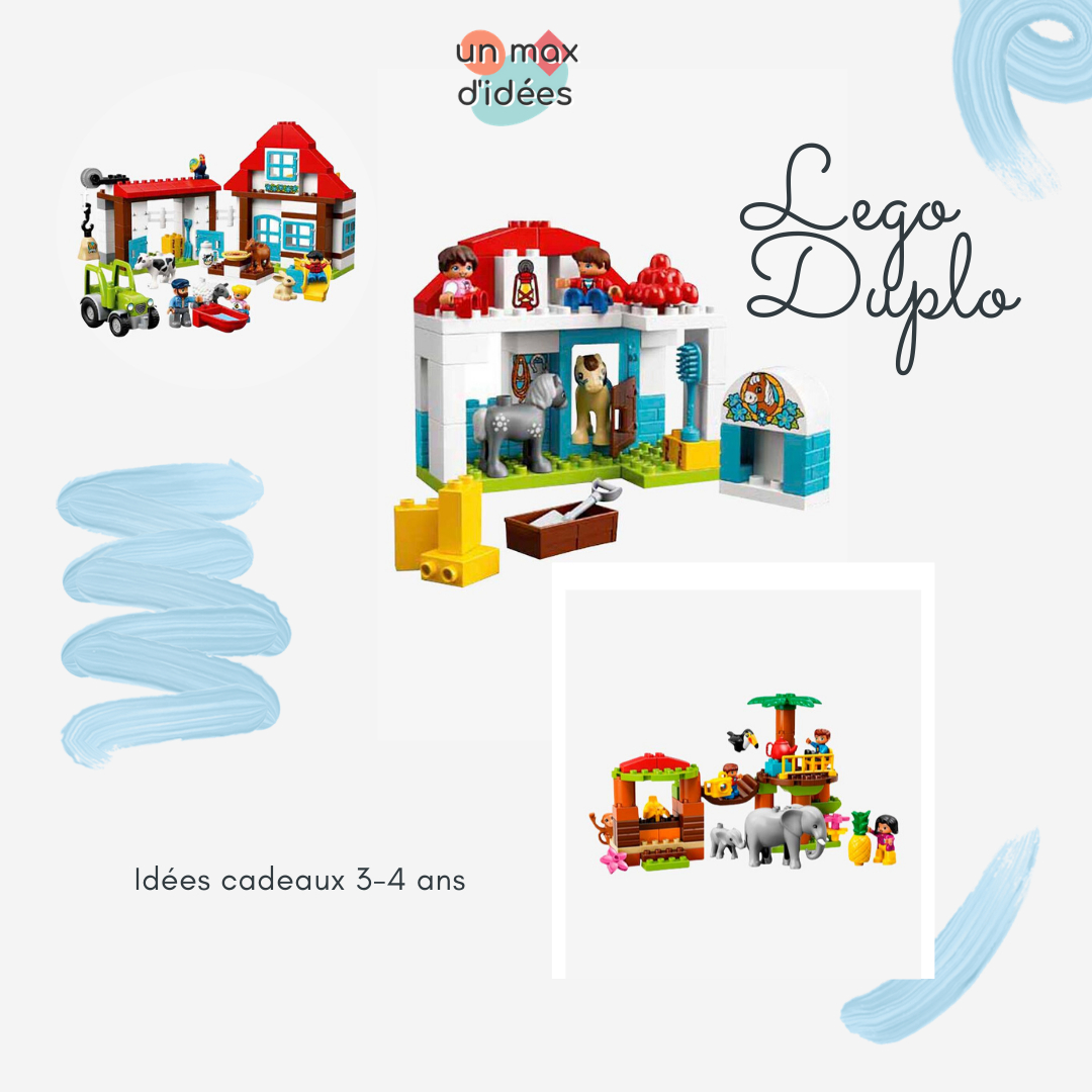 Idées Cadeaux Pour Enfant 3-4 Ans - Un Max D'idées tout Jeux Gratuit Pour Garcon De 4 Ans