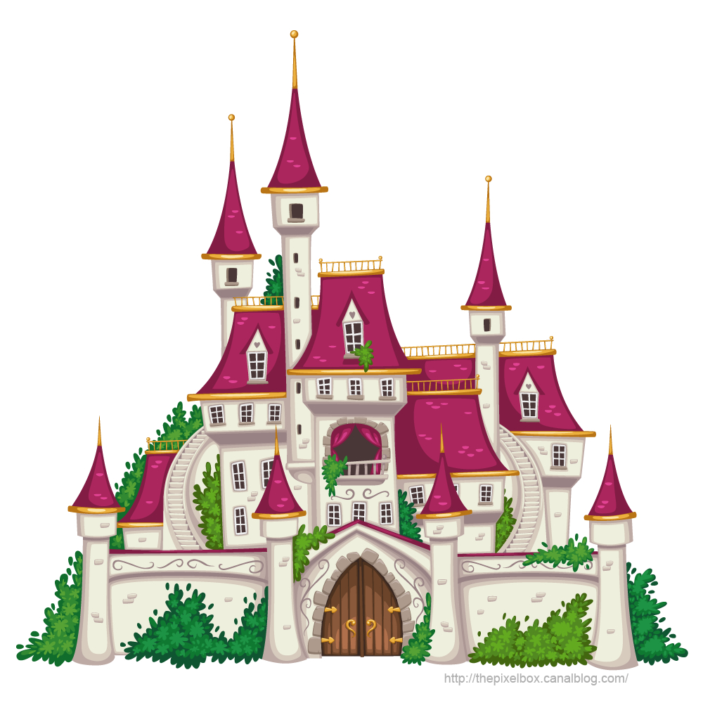 Il Était Une Fois Un Prince Qui Vivait Dans Un Somptueux tout Chateau Princesse Dessin