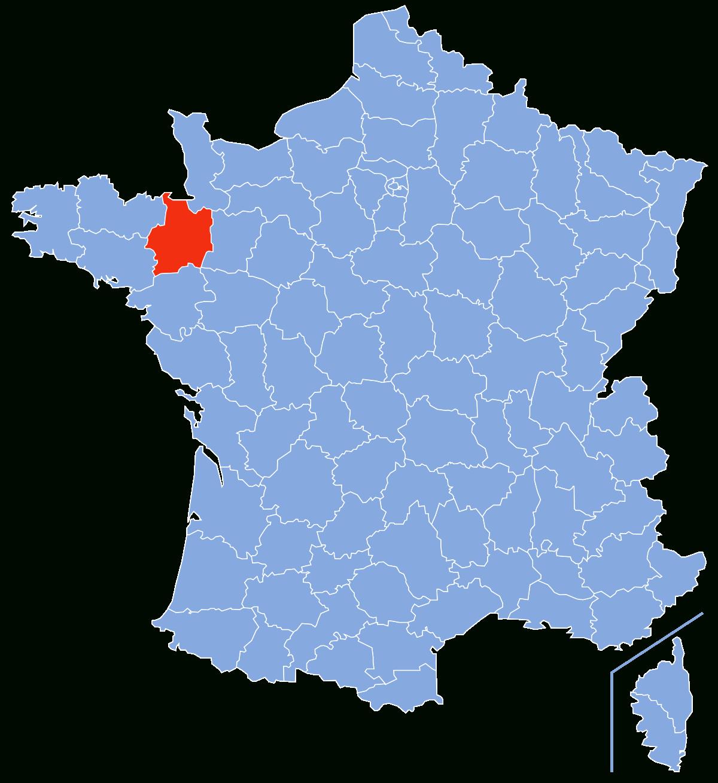 Ille-Et-Vilaine — Wikipédia destiné Carte De France Pour Les Enfants