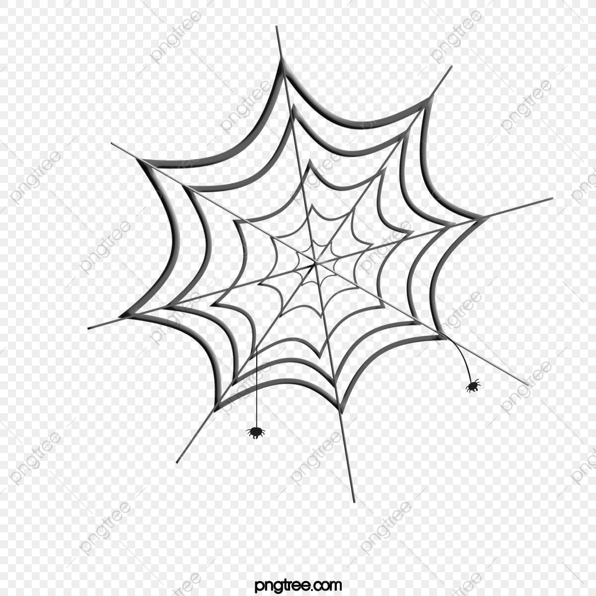 Illustration De Dessin Animé Texture Toile D'araignée Mignon dedans Dessiner Une Araignee