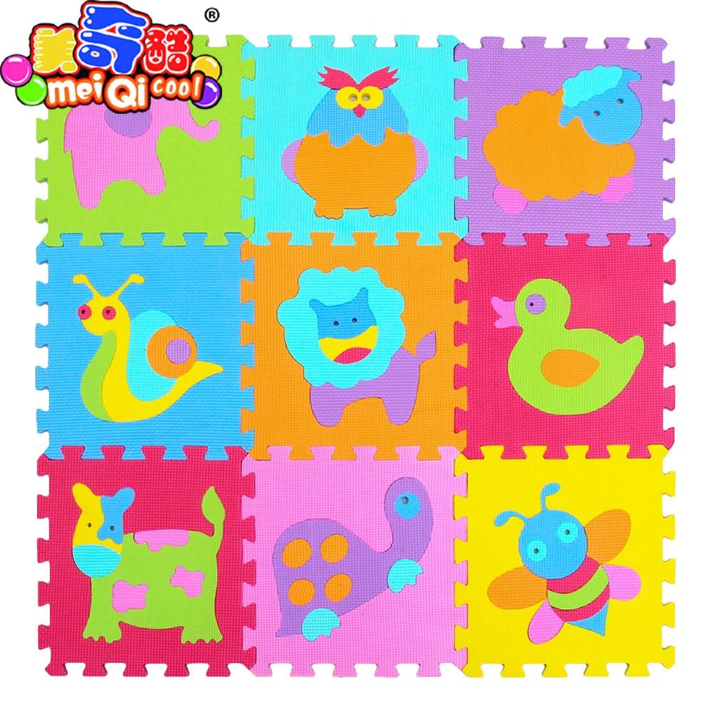 Ilovethepersonwhohatesme: Achat Mei Qi Cool Bébé Eva Mousse avec Puzzle En Ligne Enfant