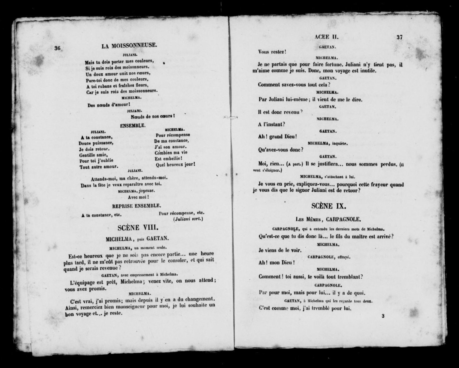 Image 22 Of La Moissonneuse : Drame Lyrique En Quatre Actes dedans Un Mot Pour Quatre Images