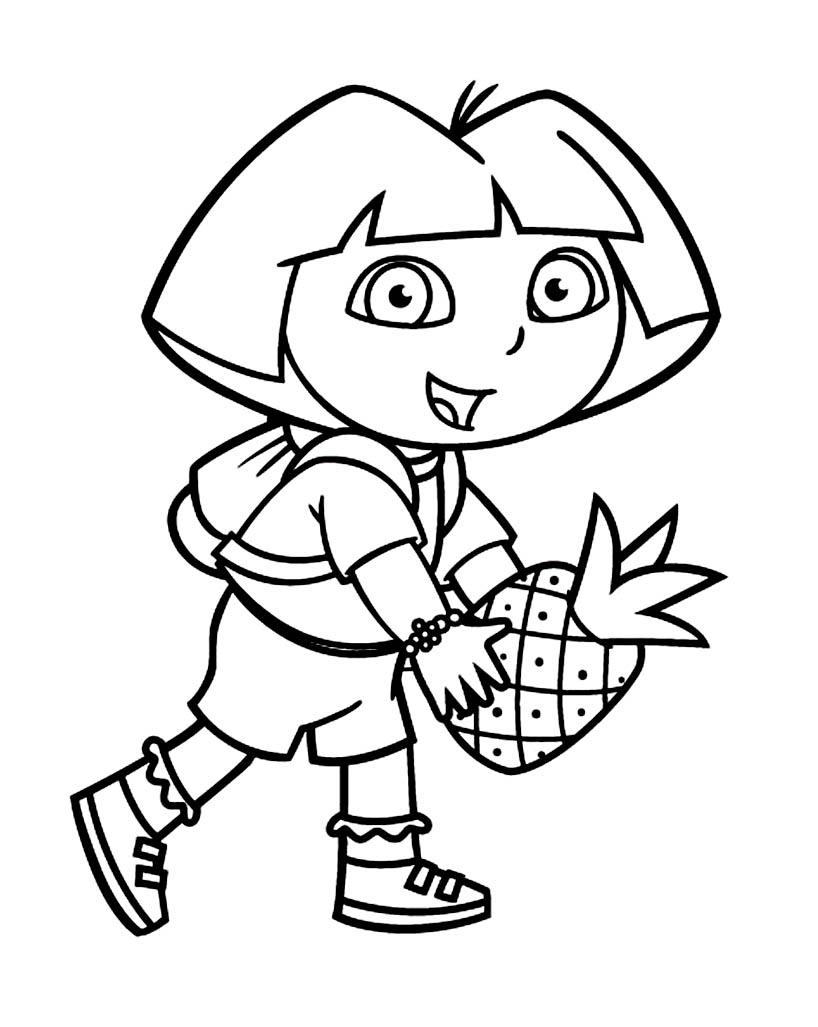Image De Dora L'exploratrice À Télécharger Et Colorier dedans Coloriage Dora Princesse