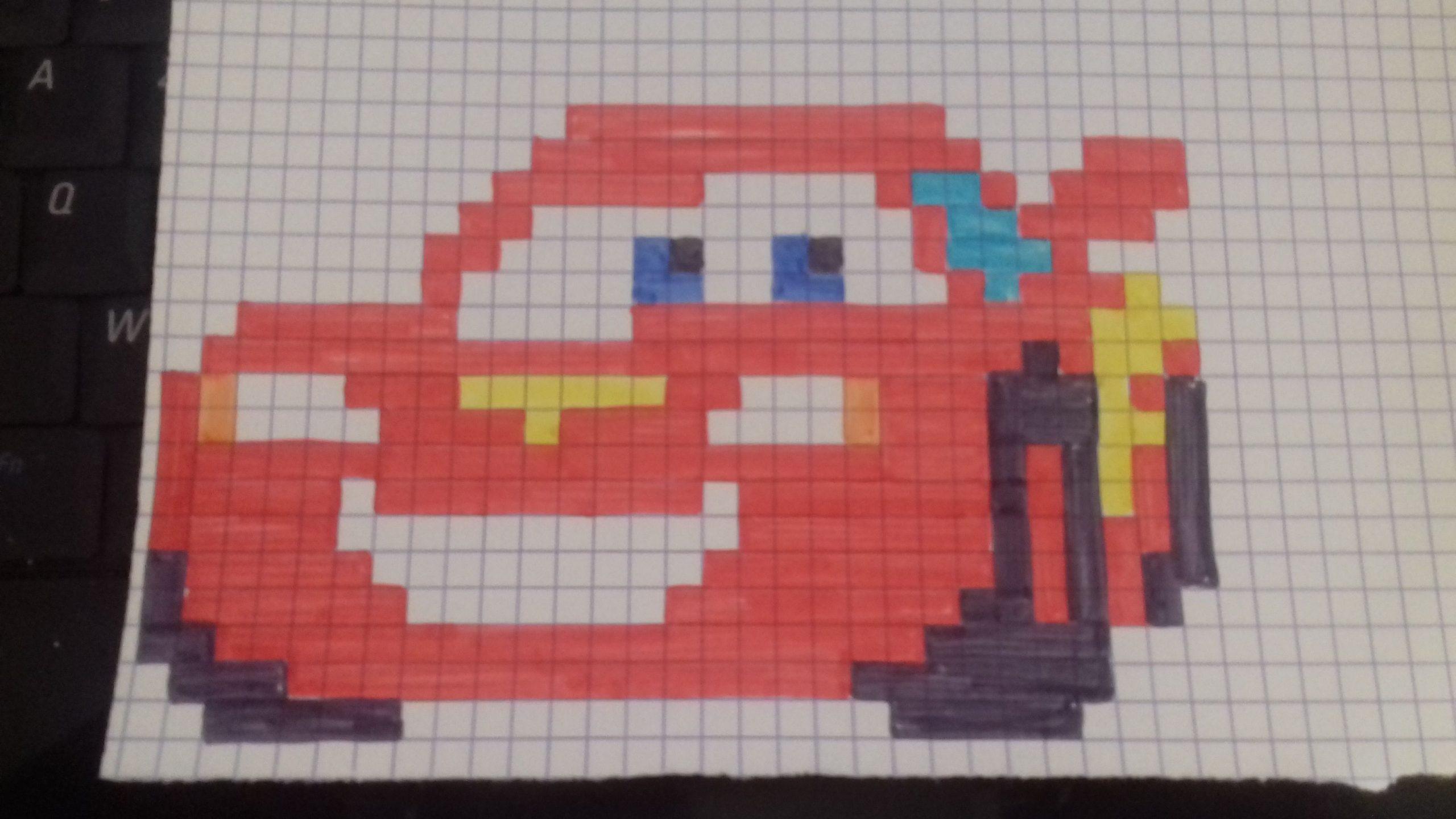 Image Du Blog Lesbricodelo.centerblog | Dessin Pixel encequiconcerne Voiture Pixel Art