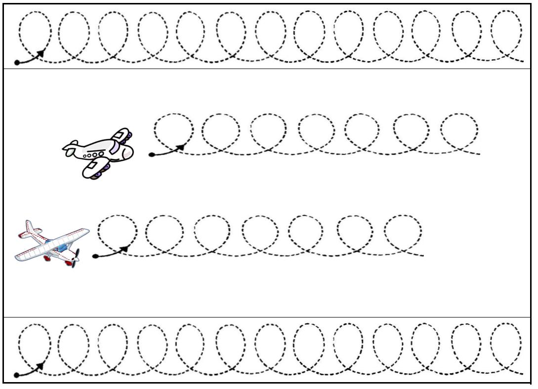 Image Les Boucles Des Avions | Schrijven, Werkbladen, Thema dedans Graphisme Maternelle A Imprimer Gratuit