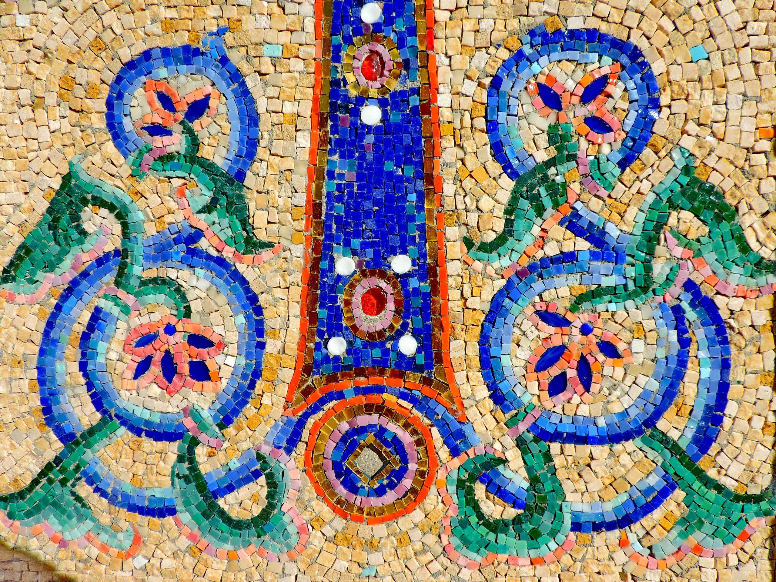 Image Libre: Arabesque, Mosaïque, Symbole, Symétrie, Art dedans Arts Visuels Symétrie