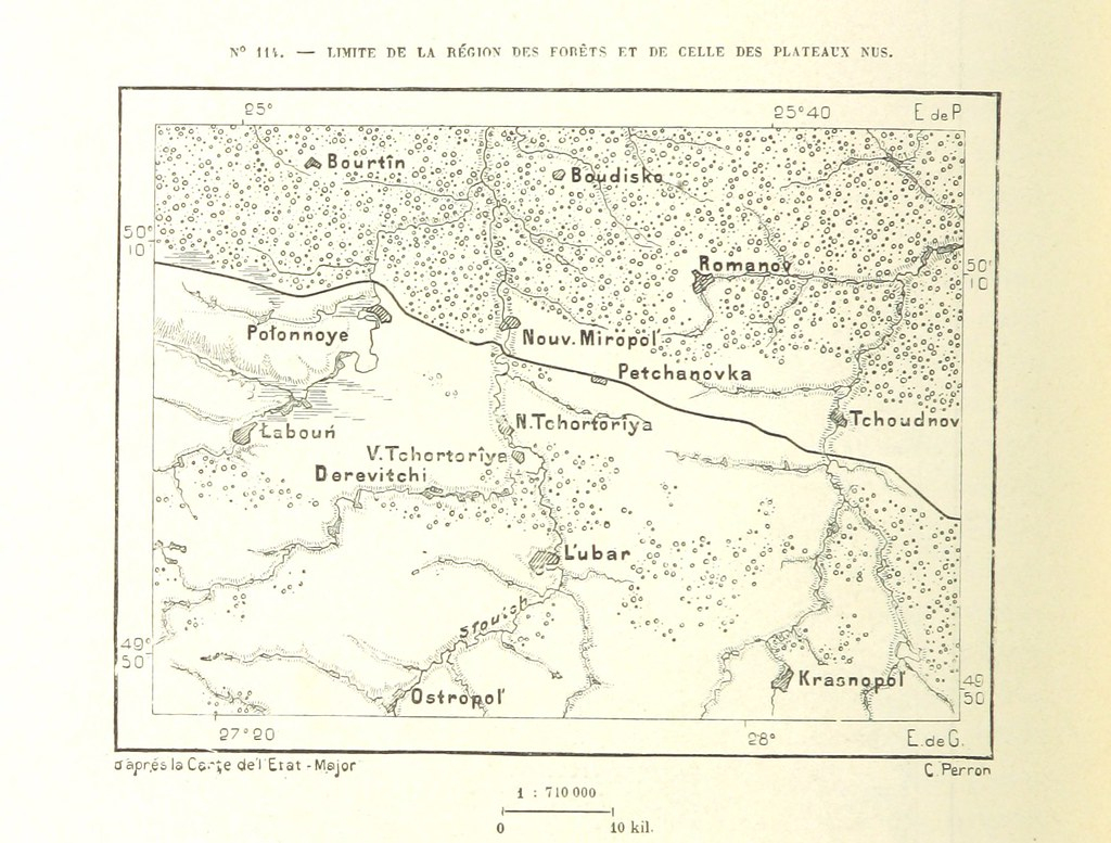 Image Taken From Page 548 Of 'nouvelle Géographie Univers tout Nouvelle Carte Region
