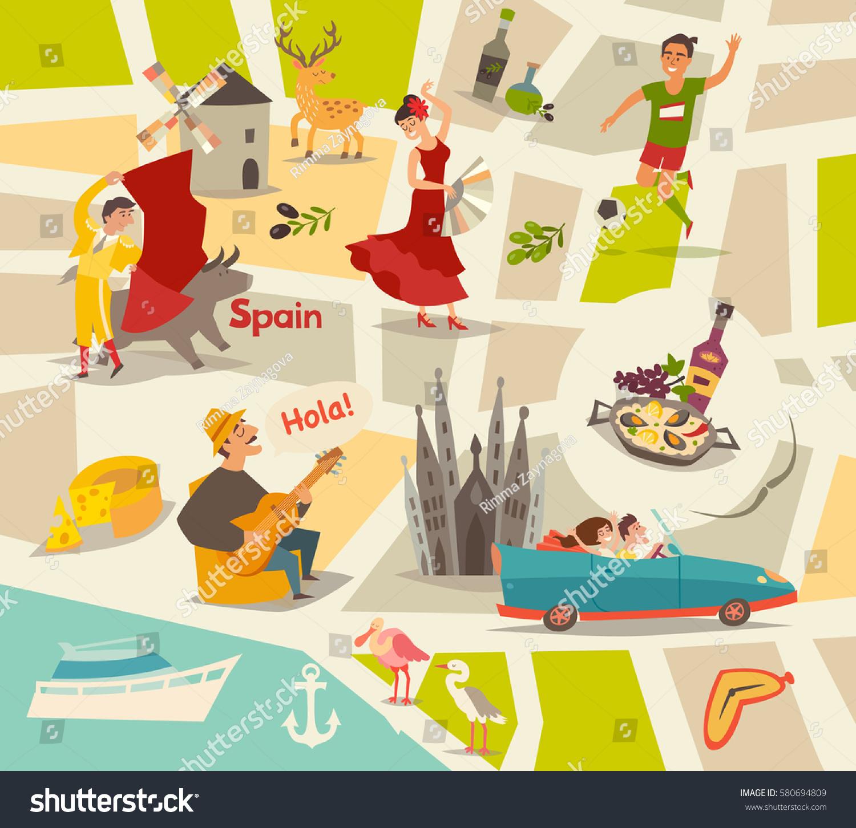 Image Vectorielle De Stock De Carte Vectorielle Abstraite De encequiconcerne Carte Europe Enfant