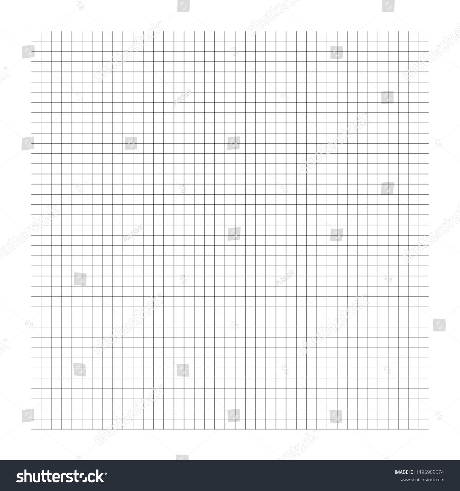 Image Vectorielle De Stock De Graphe, Dessin Papier tout Dessin Sur Quadrillage