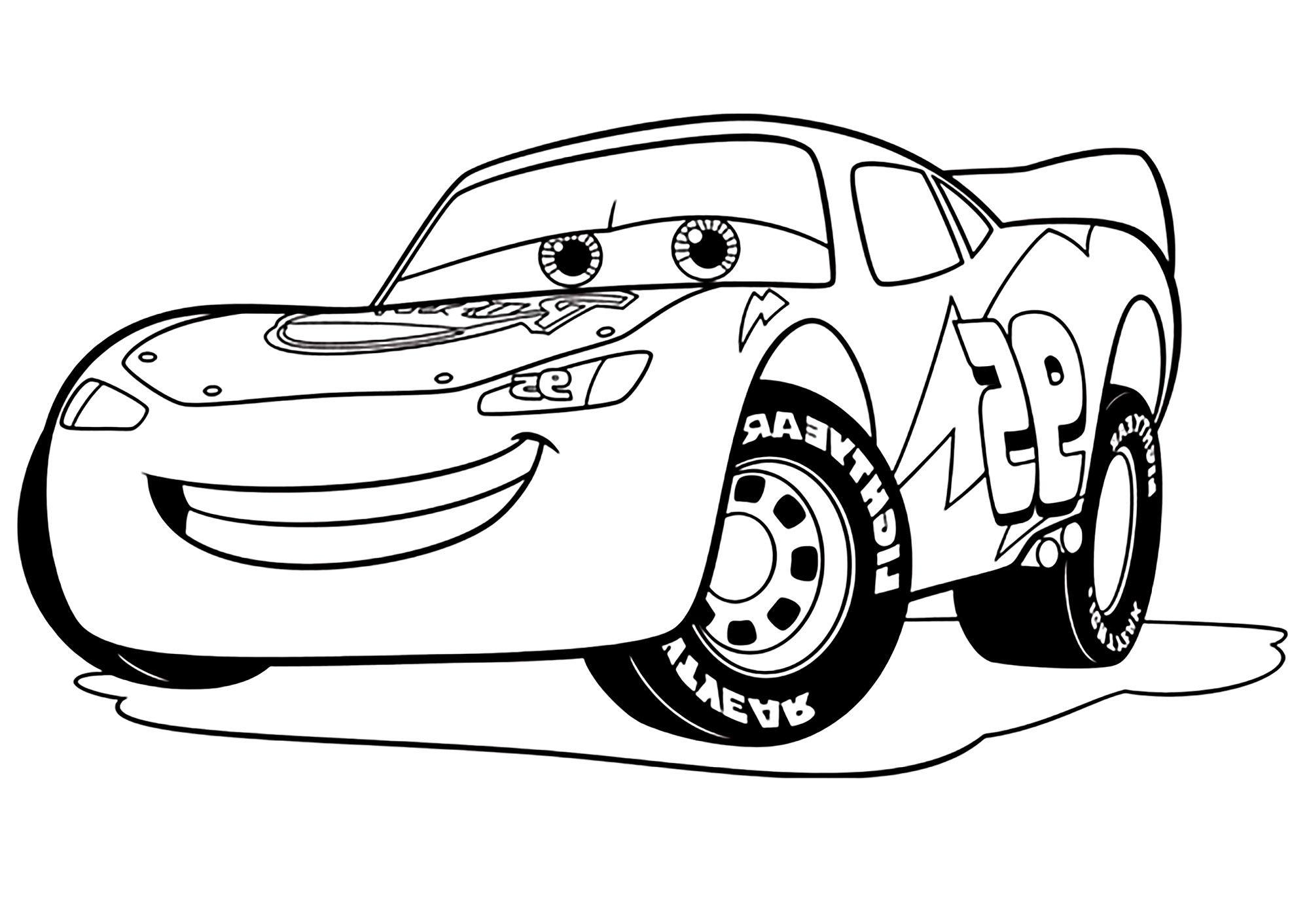 Image=Cars 3 Coloriage Cars 3 Flash Mc Queen 1 tout Coloriage De Flash Mcqueen