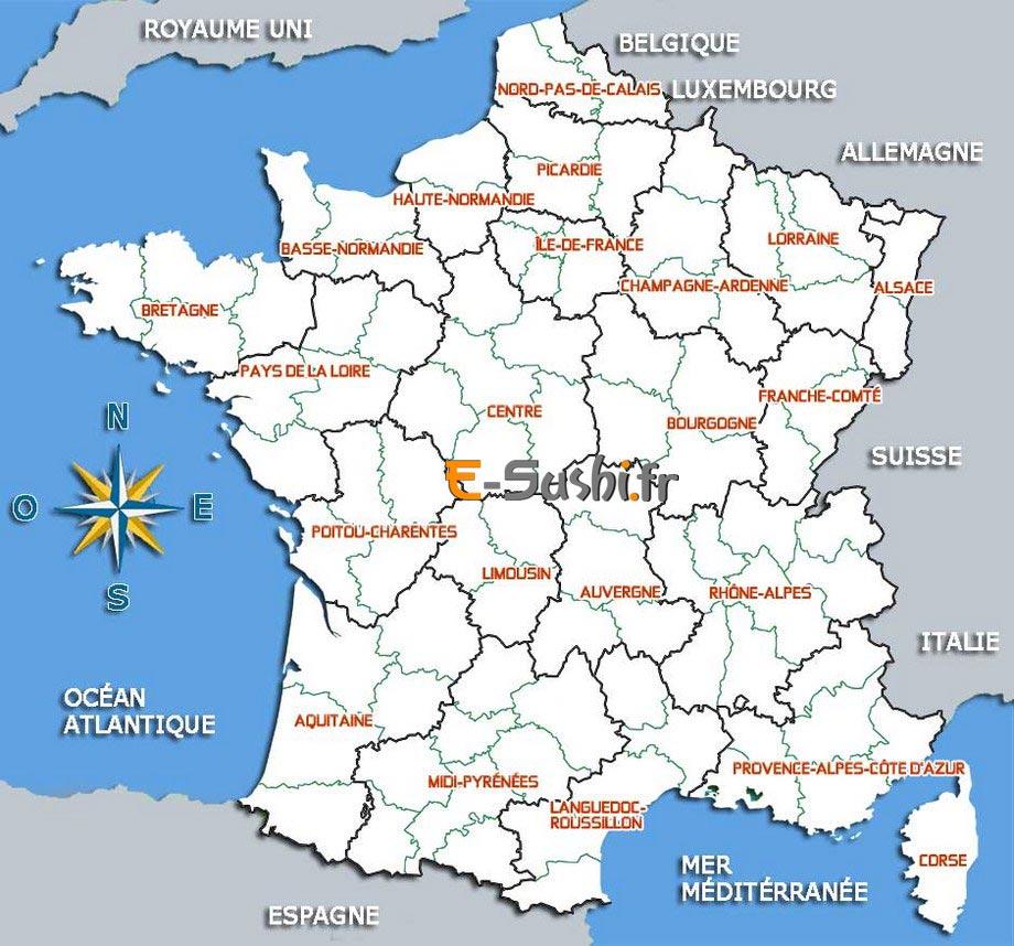 Images De Plans Et Cartes De France - Arts Et Voyages dedans Carte De France Imprimable