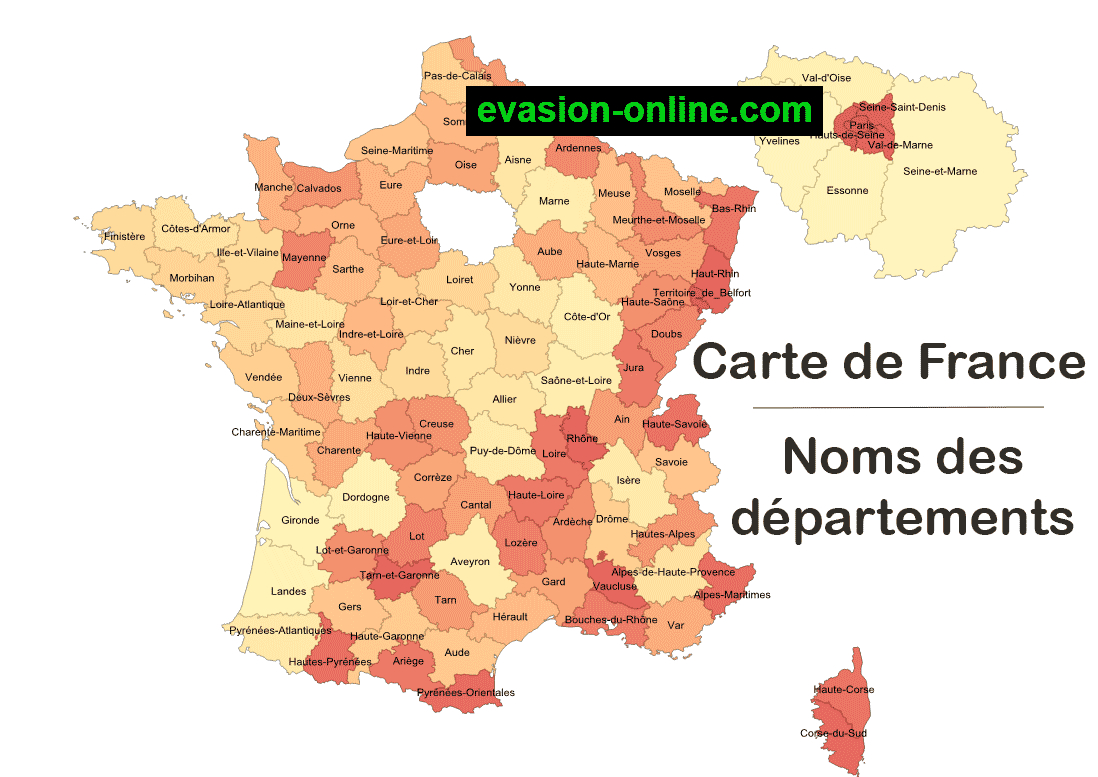 Images De Plans Et Cartes De France » Vacances - Arts serapportantà Carte De France Avec Département À Imprimer