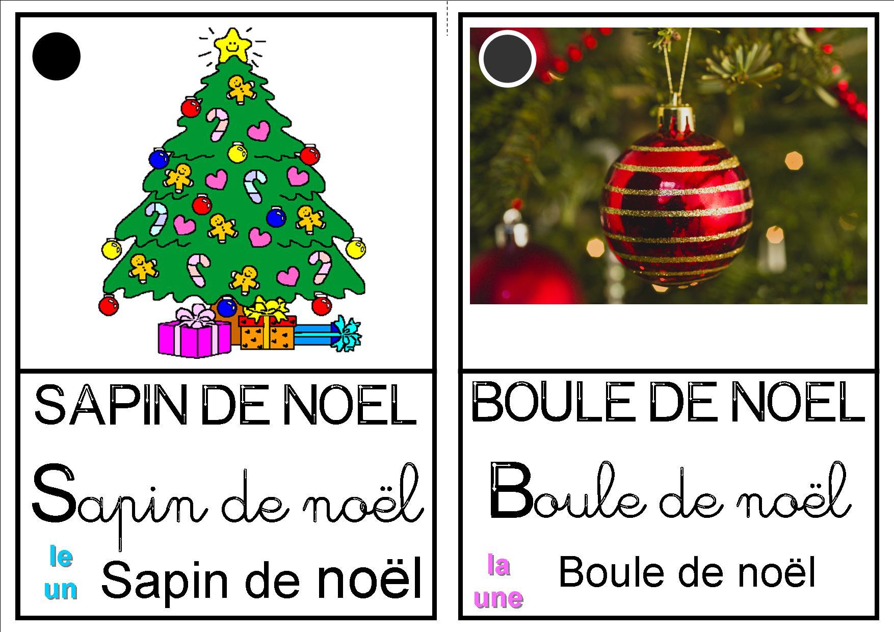 Imagier De Noël - La Classe Destout Petits- Petits-Moyens encequiconcerne Imagier Noel Maternelle
