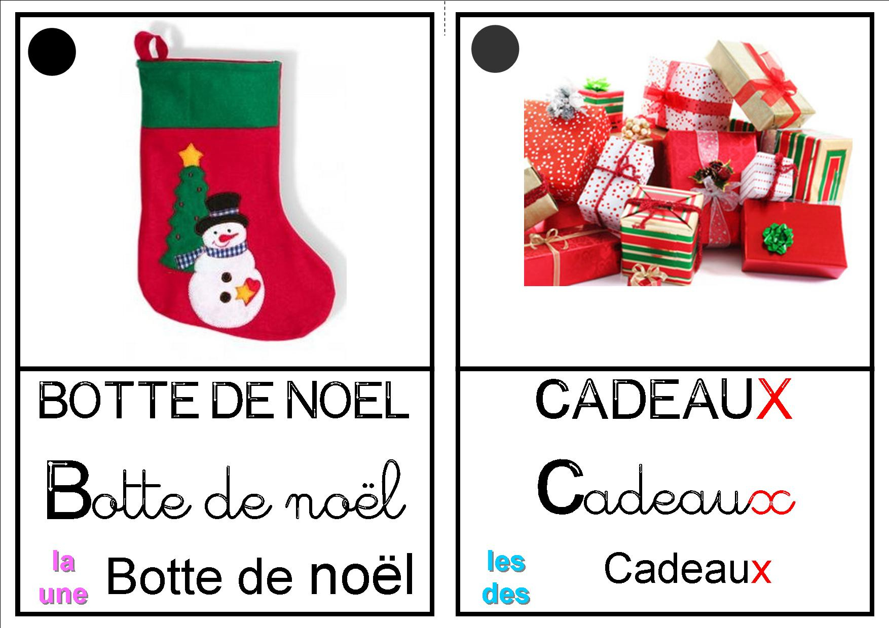 Imagier De Noël - La Classe Destout Petits- Petits-Moyens pour Imagier Noel Maternelle