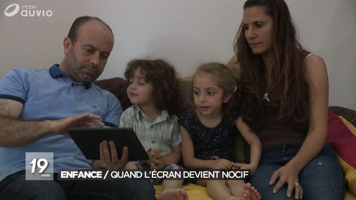 Impact Nocif Des Écrans Sur Les Moins De 3 Ans - Jt 19H30 - 11/09/2018 à Jeux De Petit Garçon De 3 Ans