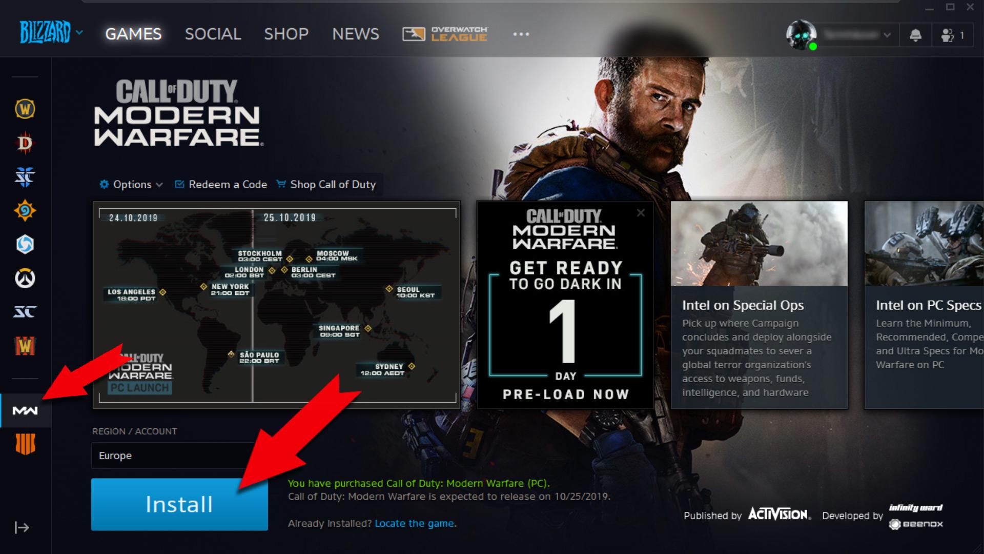 Important ! Comment Installer Cod: Modern Warfare Sur Votre dedans Application Jeux Gratuit Pc