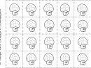 Imprimer Fiche Pour Compter Maternelle 20 Champignons Coloriage pour Apprendre A Compter Maternelle