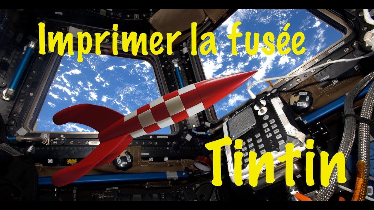 Imprimer La Fusée De Tintin intérieur Fusée À Imprimer