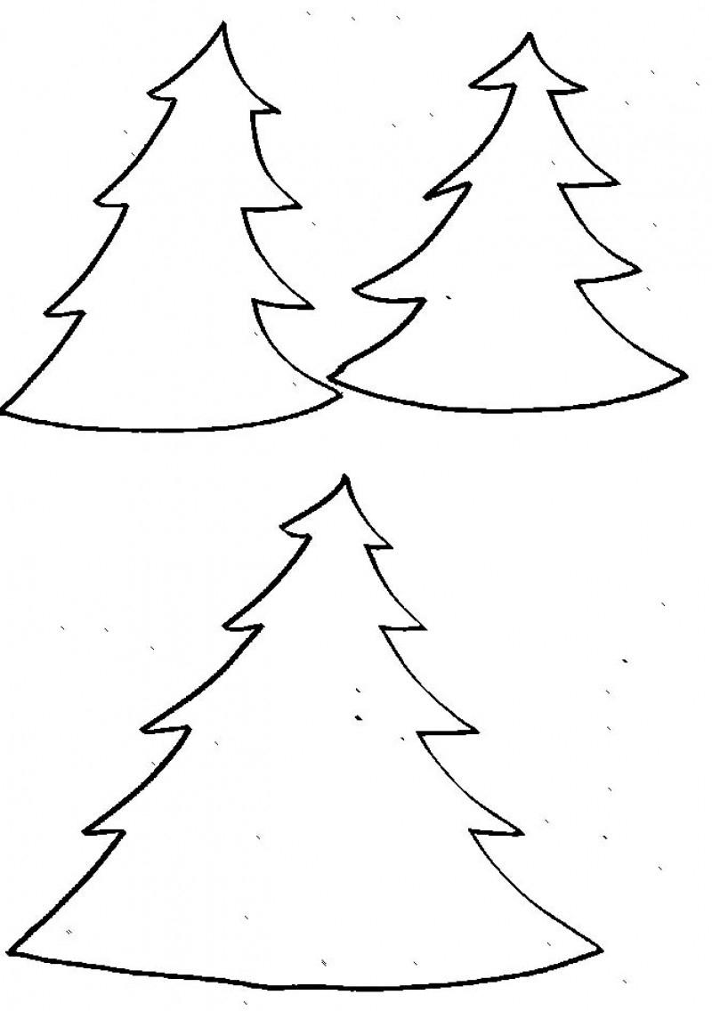 Imprimer Le Modèle Sapin Pour Le Photophore De Noël Géant à Gabarit Sapin De Noel A Imprimer